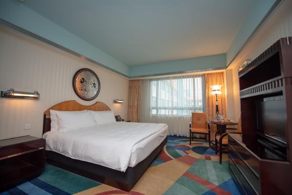 ハリウッドホテルのベッド