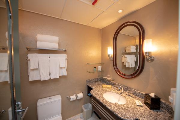 ハリウッドホテルのバスルーム