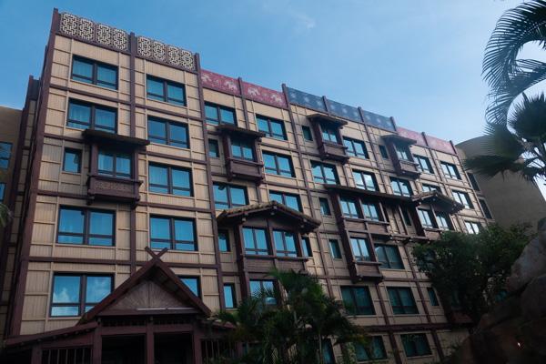 アジアの建物