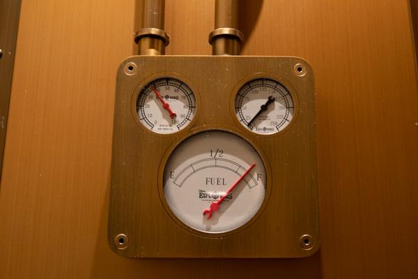 熱気球エレベーターの計器