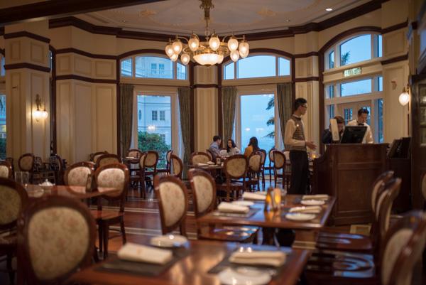 ウォルト・カフェの室内