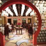 クリスタル・ロータスの室内入り口