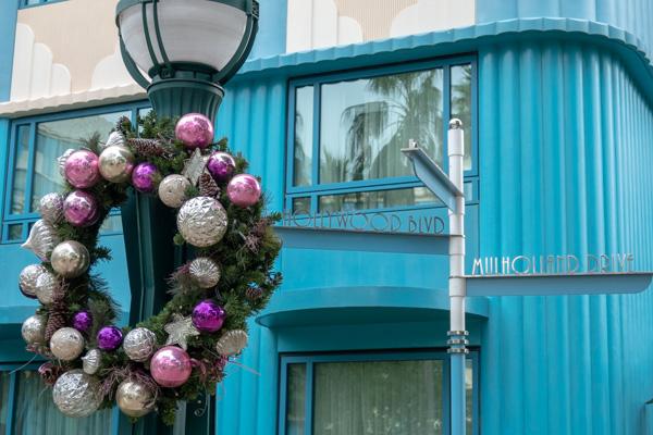ハリウッド・ホテルの庭