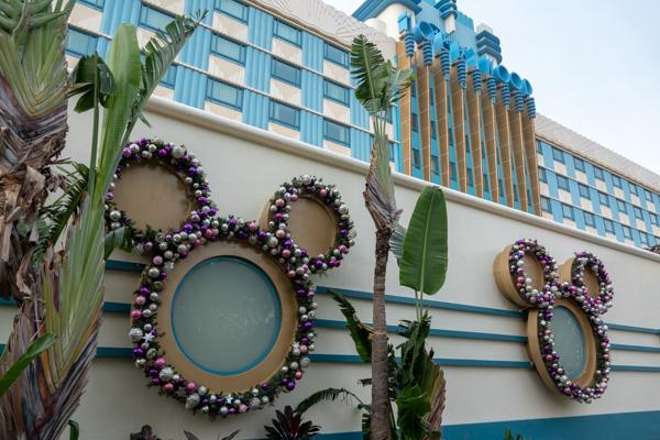 ハリウッド・ホテルのミッキーシェイプ