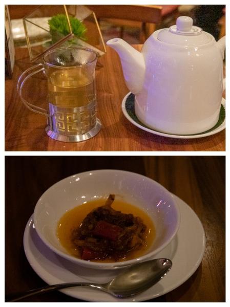 お茶と薬味