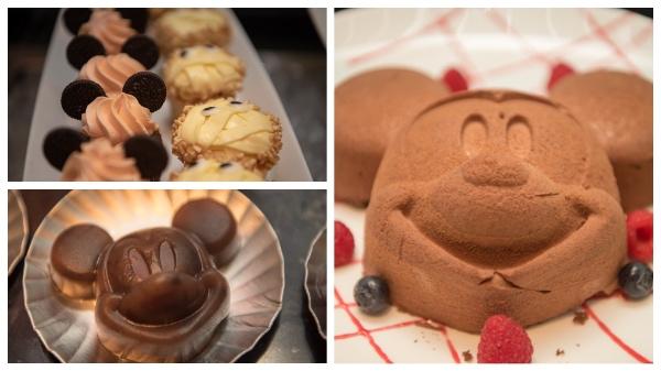 ミッキーのデザート